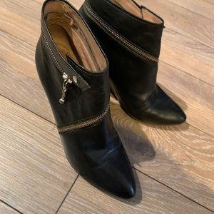 Women's La Belle Stylish Leather Ankle Boots